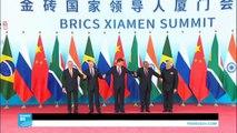 """قادة بريكس """"يدينون بشدة"""" التجربة النووية الكورية الشمالية"""