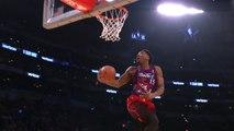 Donovan Mitchell With Vince Carter Dunk - Slam Dunk Contest   2018 NBA All-Star Saturday Night