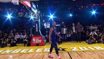 Dennis Smith Jr With The 360 Eastbay Dunk _ Slam Dunk Contest _ 2018 NBA All-Star Saturday Night