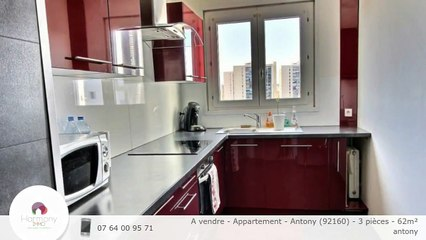 A vendre - Appartement - Antony (92160) - 3 pièces - 62m²
