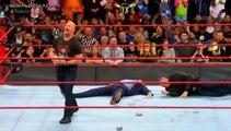 Stone Cold Steve Austin attacks Vince McMahon & shane mcmahon wwe monday night raw January 22 2018