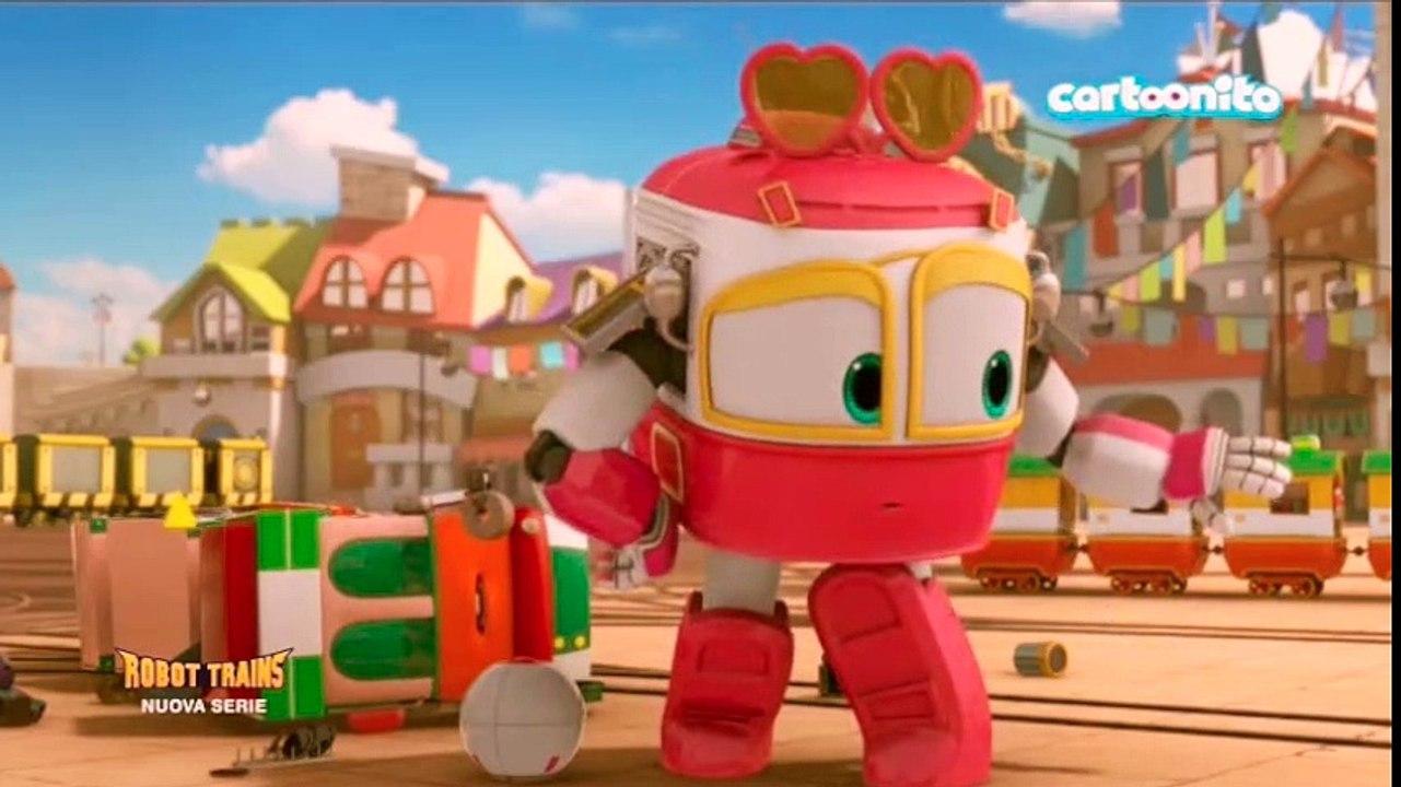 Robot trains la nuova serie tv prescolare di deajunior movie