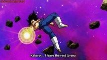 Vegeta Eliminated, Goku's Ultra Instinct Again, Finally Vegeta Gives His Energy To Goku,Goku,Jiren