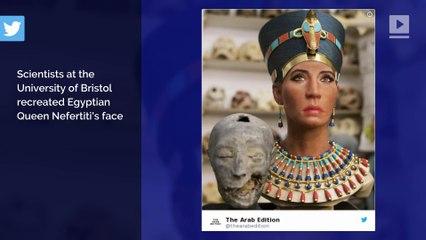 Queen Nefertiti 3D Model Sparks Skin Tone Controversy - video