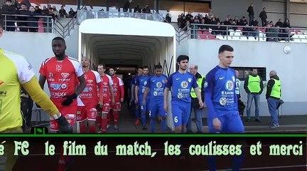 Challans - Sablé FC le film du match et plus