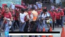 مظاهرات معارضة وأخرى موالية للرئيس الفنزويلي في شوارع كاراكاس