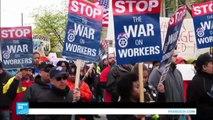 مظاهرات في مدن أمريكية في عيد العمال تندد بسياسة ترامب