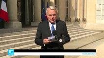 وزير الخارجية الفرنسي يتهم دمشق باستخدام غاز السارين في خان شيخون