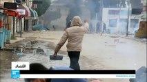 مواجهات بين الأمن ومحتجين في مدينة بن قردان الحدودية مع ليبيا