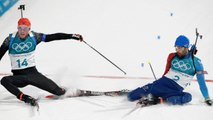 Olympic Biathlon Race Comes Down To A Photo Finish