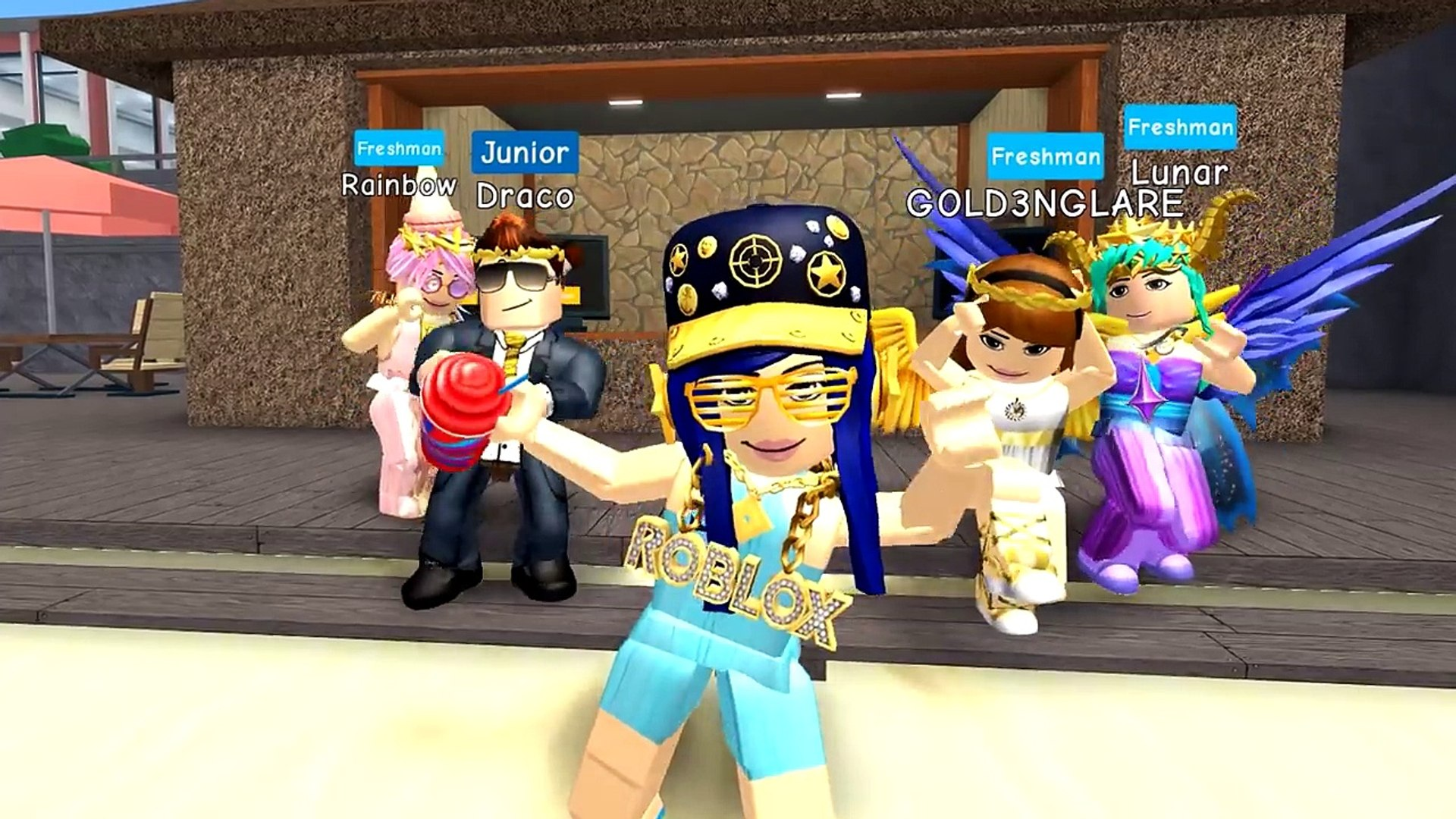 Wasting My Robux I Buy A Party Yacht In Roblox High School