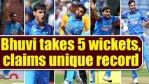 India vs South Africa 1st T20I : Bhuvneshwar Kumar takes 5 wicket haul , India leads T20 series 1-0
