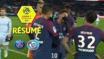 Paris Saint-Germain - RC Strasbourg Alsace (5-2)  - Résumé - (PARIS-RCSA) / 2017-18