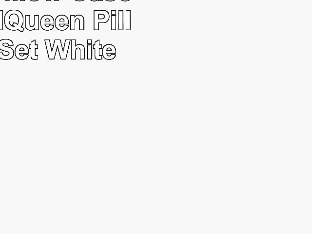 MyPillow Pillow Cases StandardQueen Pillow Case Set White