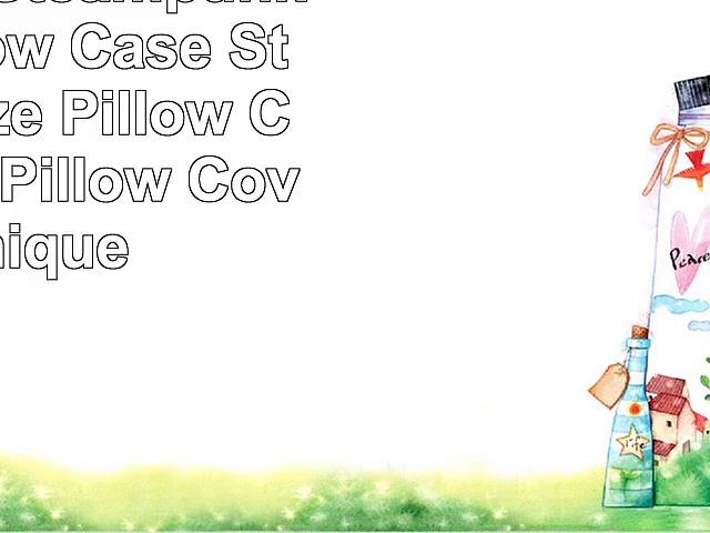 CafePress  Steampunk Heart Pillow Case  Standard Size Pillow Case 20×30 Pillow Cover