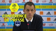 Conférence de presse Olympique de Marseille - Girondins de Bordeaux (1-0) : Rudi GARCIA (OM) - Gustavo POYET (GdB) /  2017-18