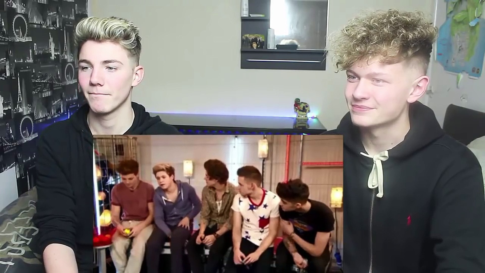 One Direction Impressions of Each Other Reaction