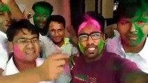 holi masti with friends