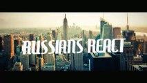 RUSSIANS REACT TO GERMAN RAP | SpongeBOZZ - Yellow Bar Mitzvah | REACTION TO GERMAN RAP