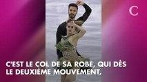 JO 2018 : Oups ! La patineuse Gabriella Papadakis dévoile un téton lors de sa performance