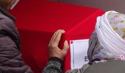 Konya'da şehidi 5 bin kişi uğurladı