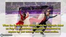 South Korean Ice Skater Yura Min Suffers Wardrobe Malfunction at 2018 Winter Olympics