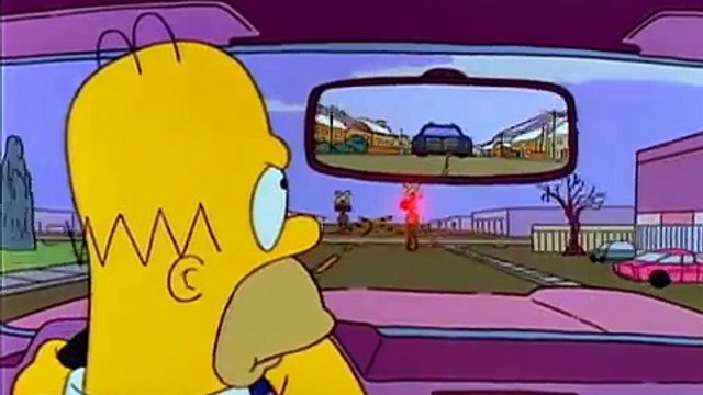 The Simpsons - Ned Chases Homer