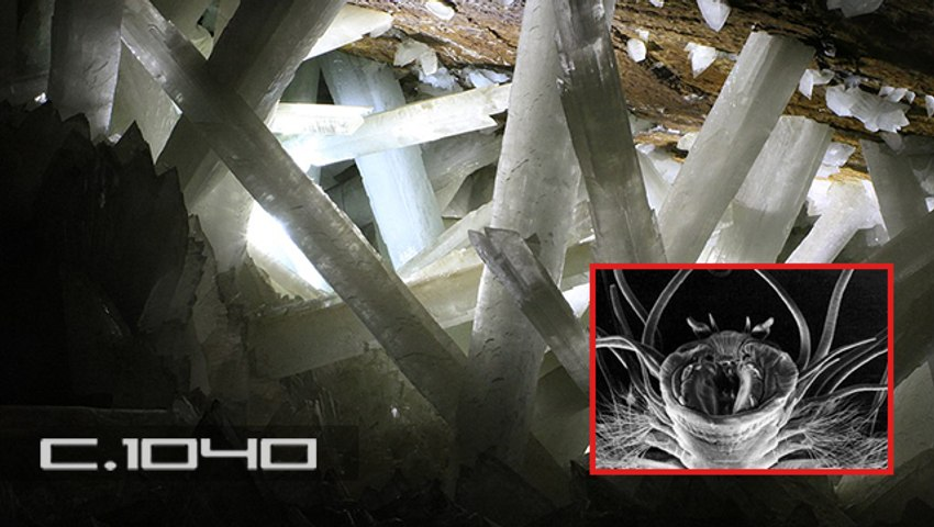 La NASA revive 'extrañas formas de vida' atrapadas en cristales gigantes del inframundo