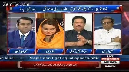 See What Nabil Gabol Said to Maiza Hameed In Live Show