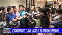 Ethics complaint vs Sen. Lacson at Sen. Trillanes; Ethics complaint vs Sen. De Lima, ibinasura rin