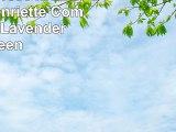 Beautyrest 16334BEDDQUELAV Henriette Comforter Set Lavender Queen