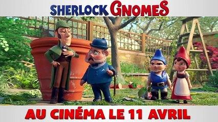 Découvrez la nouvelle bande-annonce de SHERLOCK GNOMES