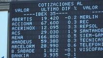La Bolsa española (0,50%) lidera las ganancias en Europa a pesar de las caídas de la banca