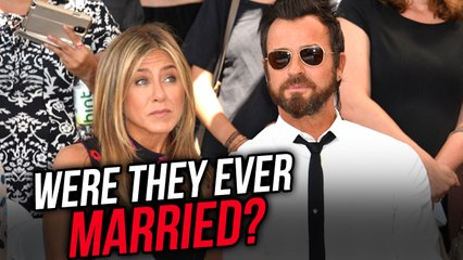 Did Jennifer Aniston And Justin Theroux Even Get Married? Evidence Says They Didn't
