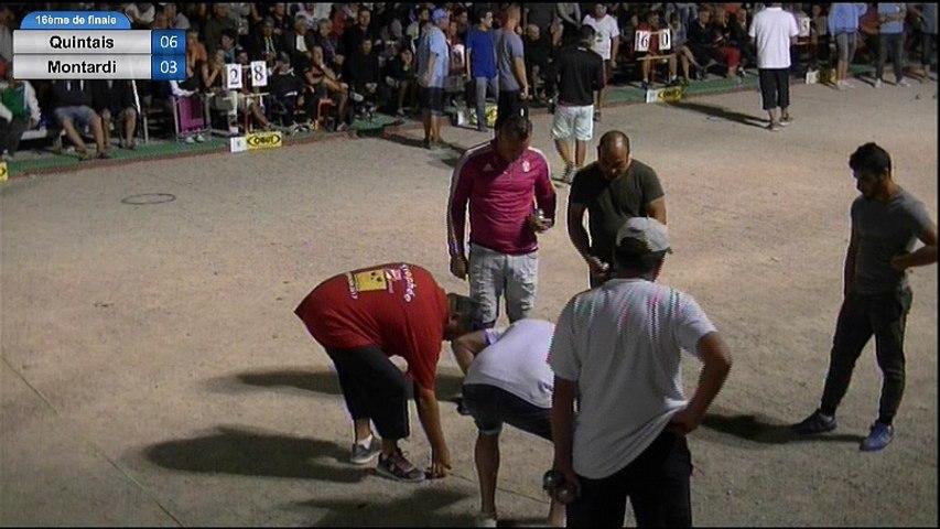 6ème International de la Ville d'Espalion : 16ème de finale Quintais vs Montardi (fin de partie)