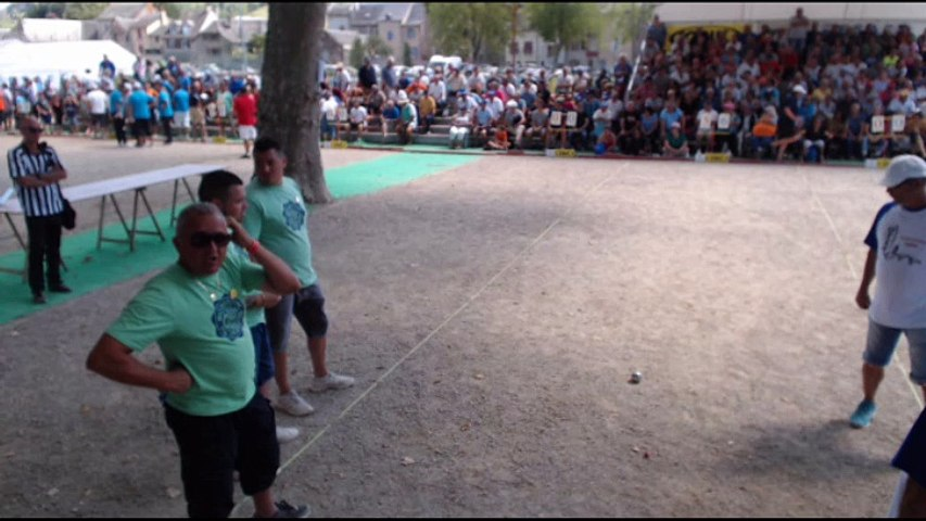 6ème International de la Ville d'Espalion : Quart de finale Duchein vs Laborde