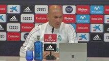 16e - Zidane (en retard) : ''J'ai envie de rester le plus longtemps possible''