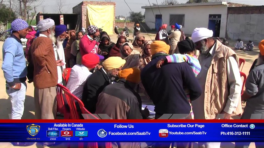 Free Eye Check Up Camp In the Memory of Mata Kartar Kaur Naushehra Pannuan  -Parivaar One Family