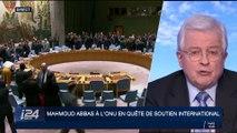 Mahmoud Abbas à l'ONU en quête de soutien international