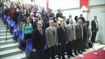 Samsun Aym Başkanvekili Yıldırım'dan Hukuk Fakültesinde Konferans