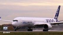 Airbus livre son premier A350-1000, le plus gros avion de ligne européen après l'A380