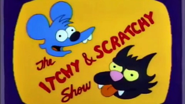 The Simpsons - Itchy and Scratchy (Oliver Stone)