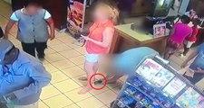 Market Sırasındaki Sapık, Önündeki Kadının Etek Altı Videosunu Çekti