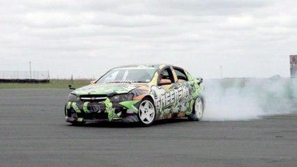 Drift Racing With Travis Pastrana
