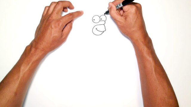 How to Draw Homer Simpson   The Simpsons