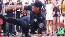 Un flic fait du breakdance et nous rappel que tous les flics ne sont pas des...