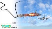 Avion russe abattu : les pilotes ont été abattus dans les airs par les rebelles syriens