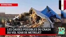 Accident aérien : les raisons possibles du crash du vol 9268 de Metrojet