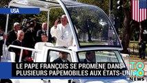Visite du pape : le pape François opte pour une Fiat et une Jeep Wrangler comme papemobiles