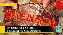 Scandale de viande congelée : on saisie de la viande vieille de 40 ans en Chine